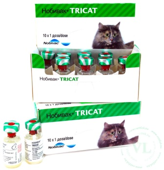 НОБИВАК ТРИКЭТ (Nobivac Tricat)